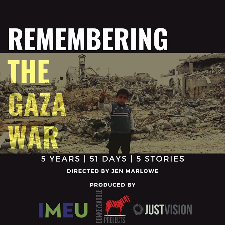 Freedom Film Series #2: Remembering the Gaza War image