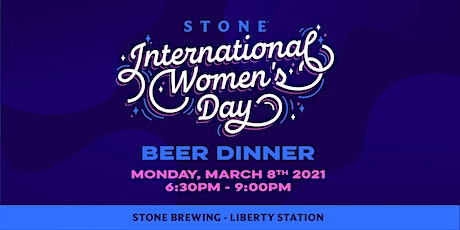 Stone International Women's Day Beer Dinner tickets