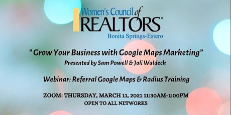 Grow Your Business with Google Maps Marketing tickets