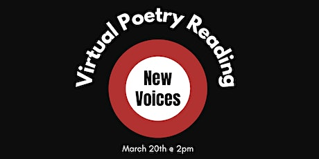 Virtual Poetry Reading: New Voices tickets