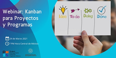 Webinar: Kanban para Proyectos y Programas entradas