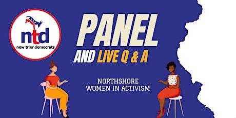 New Trier Democrats   NorthShore Women in Activism Panel & Live Q+A tickets