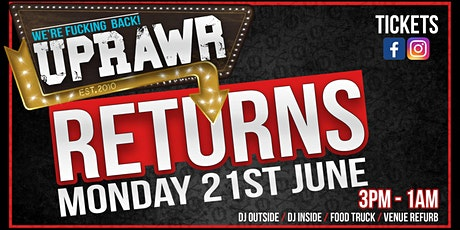 UPRAWR - We're Back! tickets