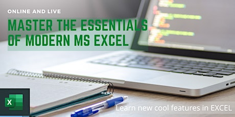 Master Essentials of Modern MS Excel - From Beginners to Advance Level tickets