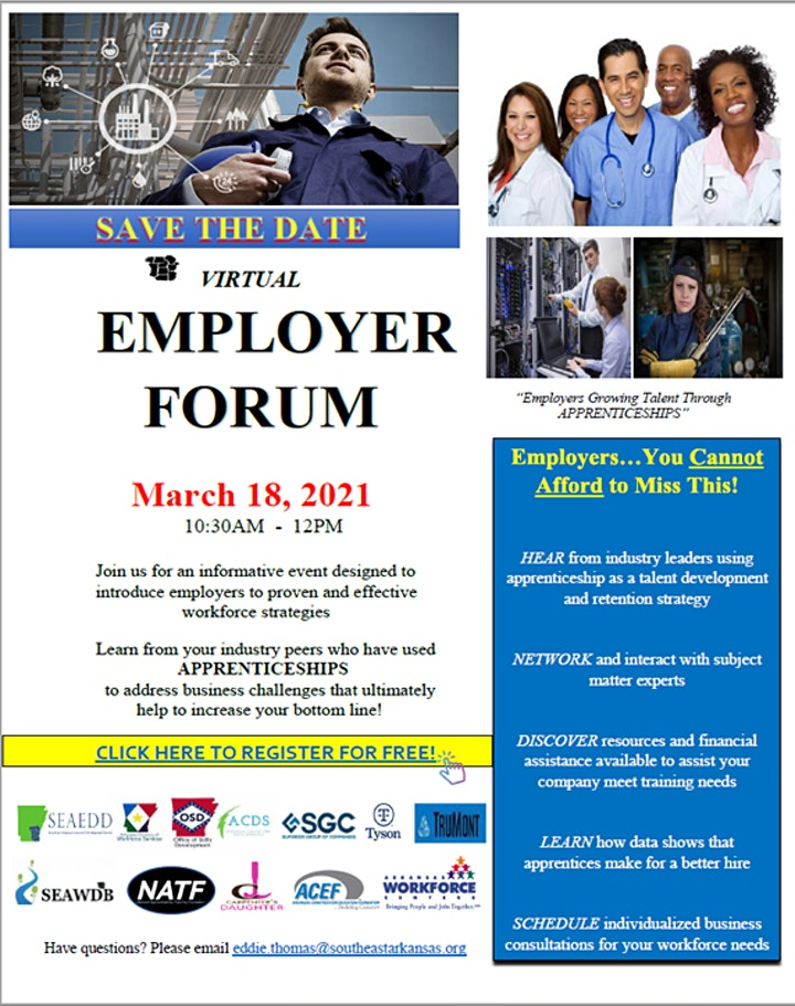 "Southeast ""Employers Growing Talent Through Apprenticeship"" Employer Forum image"