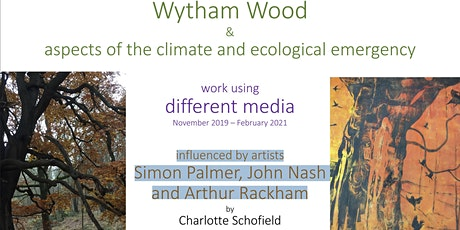 Wytham Woods, climate and biodiversity through art in various media tickets