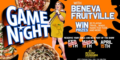 Mellow Mushroom Sarasota Presents: Beneva Fruitville's Game Night tickets