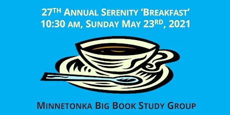 27th Annual Serenity Breakfast entradas