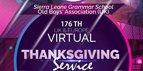 176th Annual Thanksgiving Service tickets