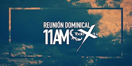 Reunión dominical - segunda sesión - 28 de febrero boletos