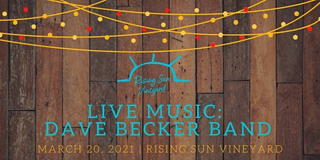 Live Music with The Dave Becker Band tickets