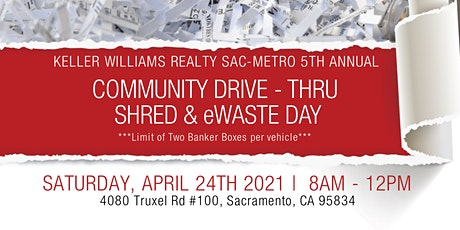 Community Drive - Thru Shred & eWaste Day tickets