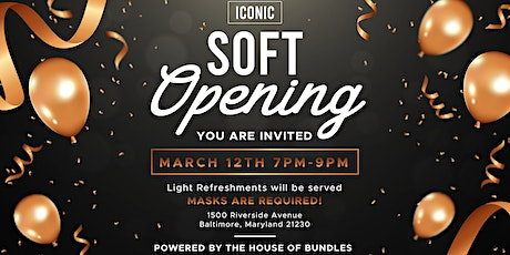 Iconic Hair Soft Opening tickets