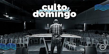 CULTO  DE DOMINGO MANHÃ ingressos