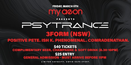 My Aeon Presents Psytrance 6.0 tickets