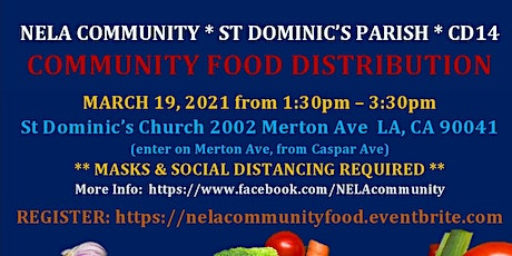NELA Community Food Distribution tickets