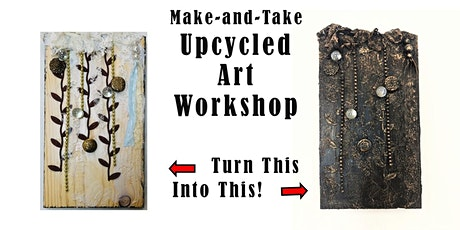 Make-and-Take Upcycled Art Workshop with Krystle tickets