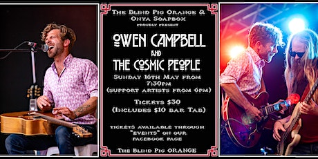 Sunday Session Blues : Owen Campbell at The Blind Pig tickets