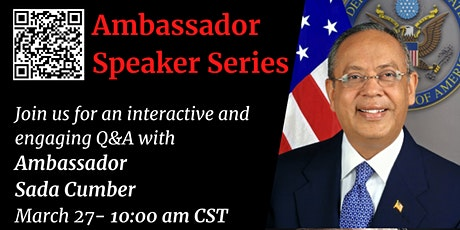 The Ambassador Speaker Series tickets