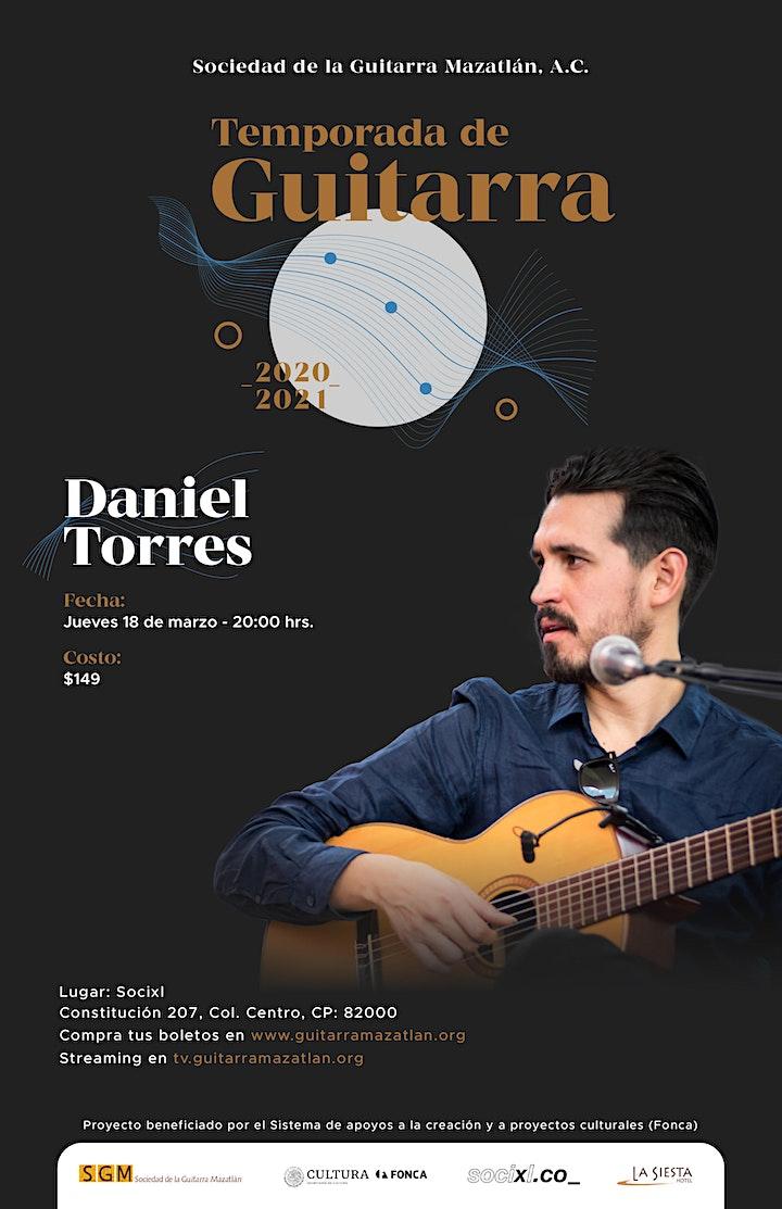 Imagen de Daniel Torres - Temporada de Guitarra
