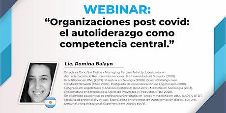 Organizaciones post covid: el autoliderazgo como competencia central. entradas