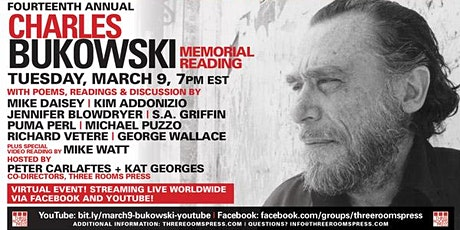The 14th Annual Charles Bukowski Memorial Reading tickets
