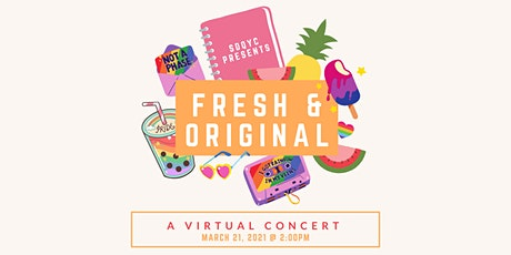 Fresh and Original- Original songs from the San Diego Queer Youth Chorus ingressos