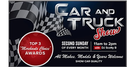 Second Sunday Car & Truck Show tickets
