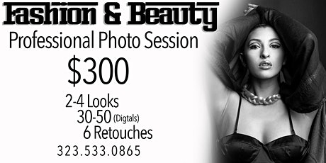 Studio Photo Session (Beauty & Fashion) tickets