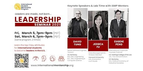 ISMP Leadership Seminar tickets