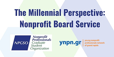 The Millennial Perspective: Nonprofit Board Service tickets