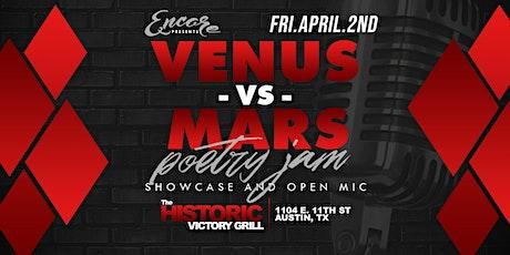 Venus vs Mars Poetry Jam | 4.2 tickets