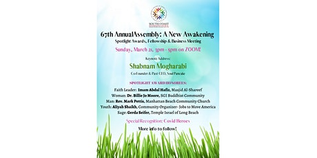 67th Annual Assembly: A New Awakening tickets