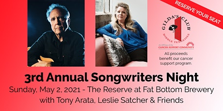 3rd Annual Songwriters Night, Benefiting Gilda's Club Middle Tennessee tickets