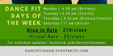 MARCH 2021 | Reserve Your Spot | Dance Fit Krew  Classes @ IDance tickets