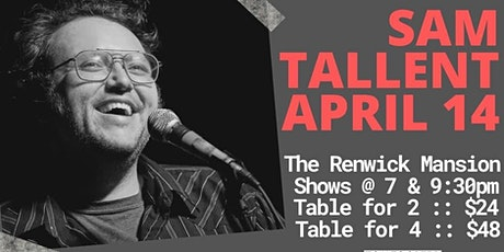 Tomfoolery On Tremont // SAM TALLENT // 7pm Table for 2 tickets