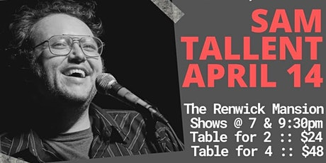 Tomfoolery On Tremont // SAM TALLENT // 7pm Table for 4 tickets