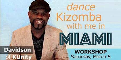 Kizomba Fusion workshop by Davidson! tickets