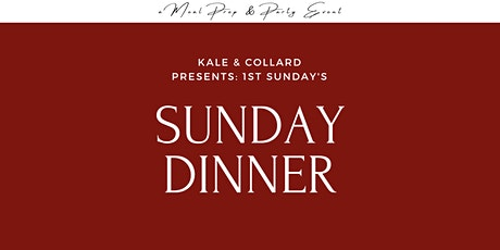 1st Sunday's Dinner Party tickets