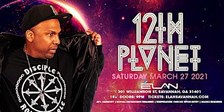 12th Planet at Elan Savannah (Sat, Mar 27th) tickets