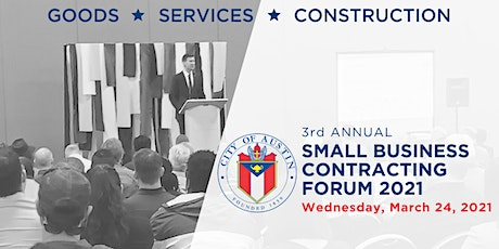 2021 Small Business Contracting Forum tickets