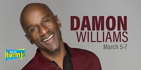Damon Williams | Saturday 8pm tickets