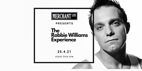 The Robbie Williams Experience - Tribute Show at Merchant Lane, Mornington tickets