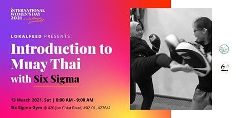 Introduction to Muay Thai with Six Sigma tickets