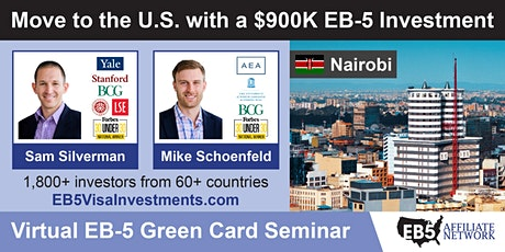 U.S. Green Card Virtual Seminar – Nairobi, Kenya tickets