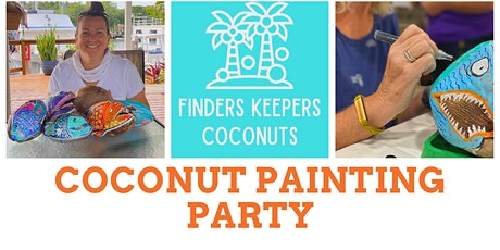 Coconut Painting Party tickets