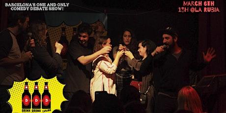 Drink Drank Drunk!  LIVE! March 6th @ La Rubia tickets