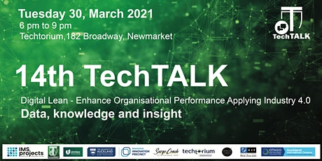 TechTalk #14 - Data, knowledge and insight tickets