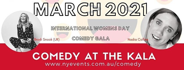 International Women's Day Comedy Gala image