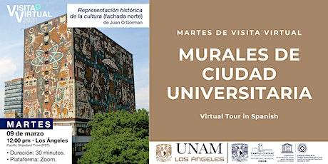 Murales de Ciudad Universitaria: visita virtual entradas
